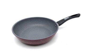 Carbon steel pan 28x6 CM, BLACK