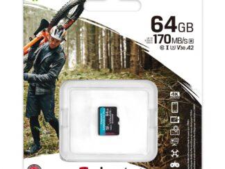 SD CARD KS 64GB CL10 UHS-I CANVAS GO PLS