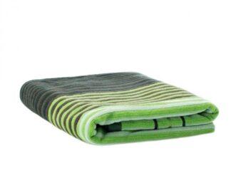 BEACH TOWEL 70X140 CM GREEN STRIPES