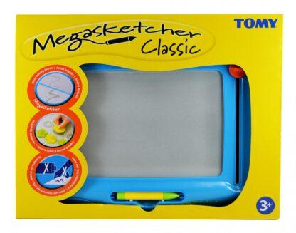 Megasketcher, magnetic writing tablet