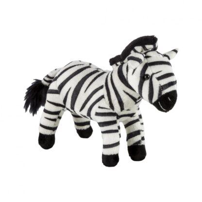 Plush zebra, 19 cm