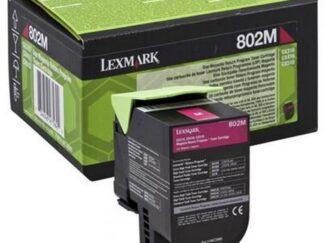 LEXMARK 80C20ME MAGENTA TONER