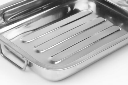 Oven Tray stainless steel  35x27x5.5 CM