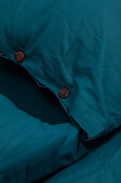 BED LINEN KS BBC ORGANIC 144TC BLUE