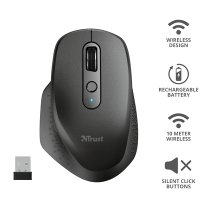 Trust Ozaa Rechargeable Wireless Mouse