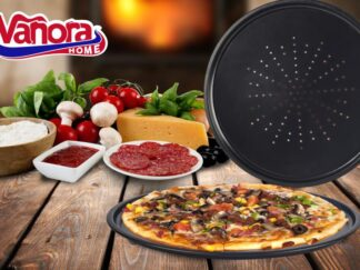 PERFORATED PIZZA TRAY 32x1cm