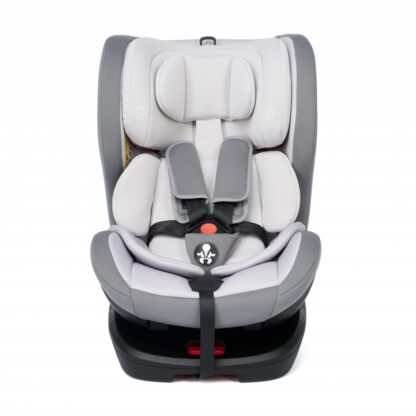 360 gr rotating car seat with Isofix, Gray