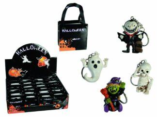 Keychain with halloween figurine