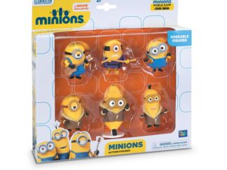 Set 6 minifigurine with  brate artiwith atte