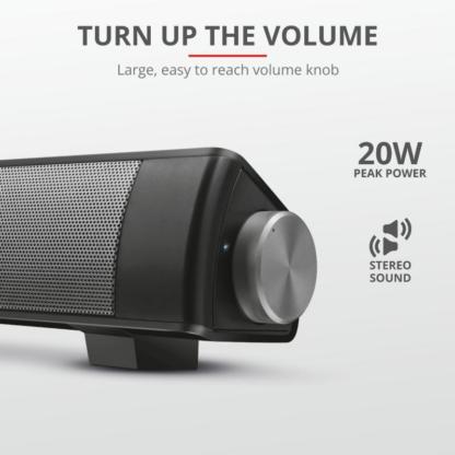 Trust Lino Wireless Bluetooth Soundbar