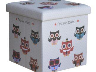 FOLDING STOOL - LARGE OWLS