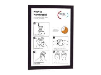 Self-adhesive magnetic frame Magaframe A4 Durable