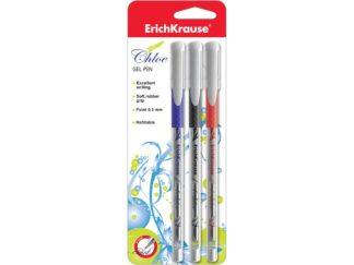 Gel ink pen Chloe, 3 pcs set EK