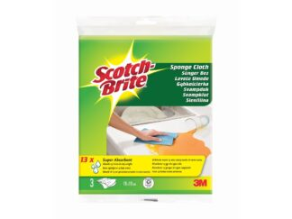 Sponge Cloth, 3 pieces/ pack Scotch Brite 3M
