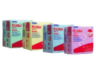 WypAll X80 Plus Cleaning Cloths - 1/4 Fold