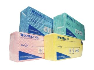WypAll X50 Cleaning Cloths - Interfolded