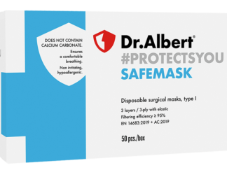 SAFEMASK Disposable surgical masks, type I - 50EA