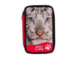 Carioca Wildcubs 2 fitted zipper pencil case