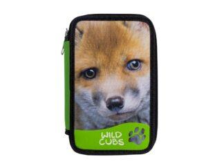 Pencil case Carioca Wildcubs 3 zip