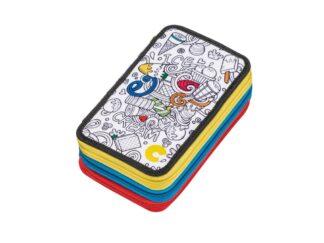 Pencil case Carioca Color 3 zip