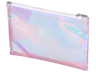 Pencil case, 22x14 cm, Clairefontaine Holographic