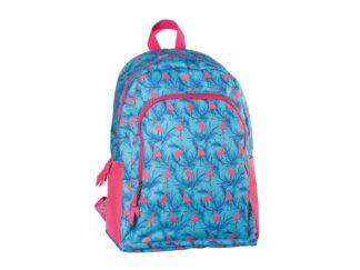 Schoolbag 43x32x20cm B'log Flamingo