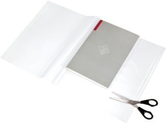 Notebook cover 550x310mm with self-adhesive crystal edges