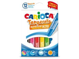 Solid stick tempera Carioca Temperello 12 / set