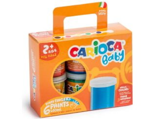 Watercolors Baby Finger Paint Carioca 6x80 ml