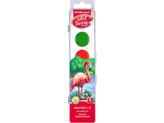 Watercolors ArtBerry with UV Protection 6 colors EK