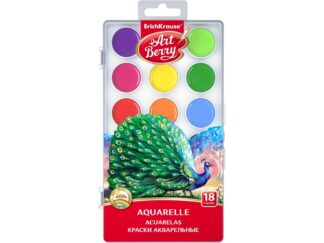 Watercolors ArtBerry with UV Protection 18 colors EK