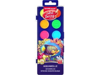 Watercolors ArtBerry Neon with UV Protection 12 colors EK