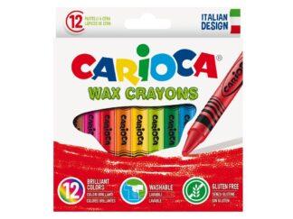 Wax crayons Carioca 12 / set