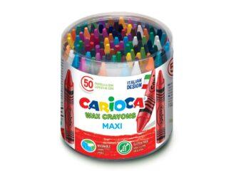 Wax crayons Maxi Carioca 50 / cut