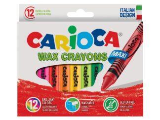 Maxi Carioca wax Pencils 12 / set