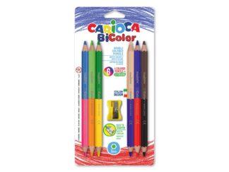 Carioca Bi-Color pencils 6 / set