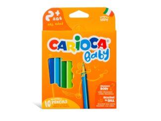 Color pencils Baby 2+ Carioca 10/set