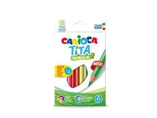 Tita Pencil Triangular Maxi Carioca 12 / set