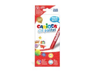 Creioane cerate Carioca Oil Pastel Maxi 12/box
