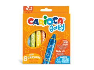 Carioca Baby 2+ Wild wax crayons
